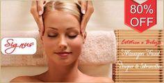 Presenteie-se em seu dia: massagem + design de sobrancelhas, de R$ 50,00 por R$ 9,90, na Signus Estética e Beleza..!!