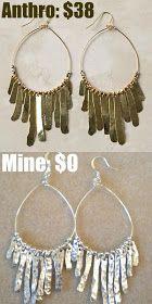 Anthropology hack earrings