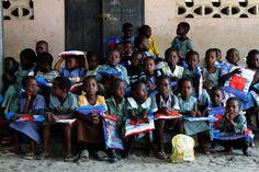 Everyone has new nets thanks to global volunteer Sloane Davidson.