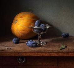 photo: ~ Дыня и сливы ~ | photographer: Елена Татульян | WWW.PHOTODOM.COM