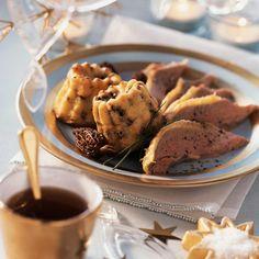 Découvrez la recette de l'oie rôtie et cannelés aux morilles et parmesan