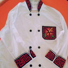 Camisa de chef mola