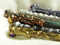 Magical Twinkly Wands for Wizards and Witchlings by EarthenJewels, $13.00