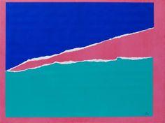 "Saatchi Art Artist Aleksey Popovtsev; Painting, ""Ultramarine azure above"" #art"
