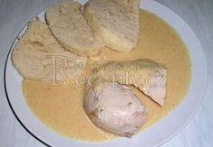 Svíčková z kuřete Camembert Cheese, Food And Drink, Chicken, Ethnic Recipes, Kai