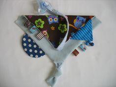 +Ein süßes Mitbringsel oder kleines Geschenk zur Geburt!!!+ Ein wunderhübsches weiches Spiel-und Schmusetuch. Superweich durch die Verarbeitung...