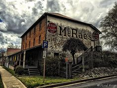McCrae's Store. Uralla. NSW Australia