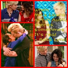 Uh huh...it's real...we know what you mean, Ross ;)