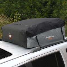This waterproof car-top carrier is the ideal storage space for your next road trip or outdoor adventure. Featuring 18 cubic feet of storage space, this waterproof car-top carrier helps you feel at eas