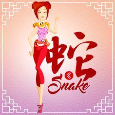 Sexy snake lady