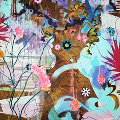 Fiona Rae, We go in search of our dream, 2007 (detail)