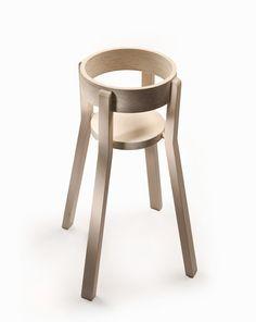 J'adore cette chaise haute, super idée