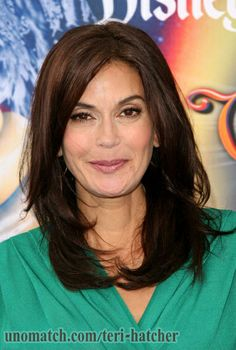 Teri Hatcher is an American actress, writer, presenter, and former NFL cheerleader. She is known for her television roles as Susan Mayer on the ABC comedy-drama series Desperate Housewives.