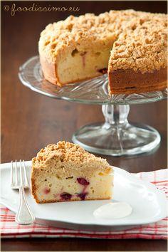 brusnicový koláčik Rolls Recipe, Cinnamon Rolls, Vanilla Cake, Desserts, Food, Tailgate Desserts, Deserts, Cinammon Rolls, Essen