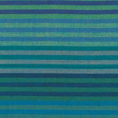 Kaffe Fassett - Woven Stripes - Caterpillar Stripe in Blue