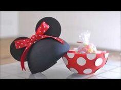 Como fazer o Mickey esculpido em eva 3d parte I By Vivian Balaban - YouTube