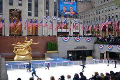 Rockefeller Center Turns Into Democracy Plaza by NYC♥NYC, via Flickr