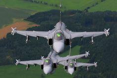 Czech Republic Air Force Saab JAS 39 Gripen.