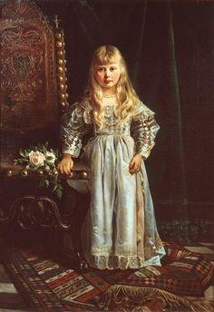 Princess Margaret of Prussia granddaughter of Queen Victoria of Great Britain.
