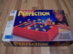 Amazon.com: Perfection Board Game 1989 Edition: Toys & Games