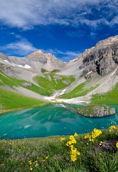 Silverton, Colorado- camping, hike to ice lake Places Around The World, Oh The Places You'll Go, Places To Travel, Places To Visit, Beautiful World, Beautiful Places, Simply Beautiful, Beau Site, Seen
