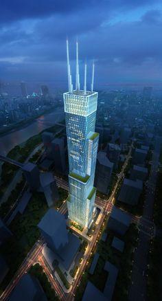 TIANJIN | Tianjin R Guangdong Tower | 468m