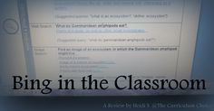 Bing in the Classroom - Review at The Curriculum Choice