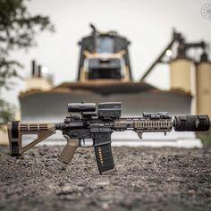 "Ballistic Advantage, manufacturer of premium rifle barrels, is now a participant in the ""Morningwood Bazaar. Ar Pistol Build, Ar Build, Weapons Guns, Guns And Ammo, Aero Precision, Battle Rifle, Military Guns, Assault Rifle, Cool Guns"