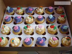 My Little Pony Mini cupcakes | Flickr - Photo Sharing!