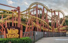 Mind Eraser, Six Flags America, Marlboro, Maryland Roller Coaster Park, Roller Coaster Pictures, Roller Coasters, Six Flags America, Places To Travel, Places To Visit, Journey To The Past, Planet Coaster, Park