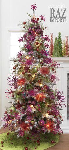Shades of Purple Christmas Tree