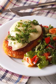 The next time you're craving Italian food, learn how to make chicken parmigiana—you won't be sorry! Juicy breaded chicken, savory tomato sauce, and melted cheese come together for a delicious meal you'll make again and again.