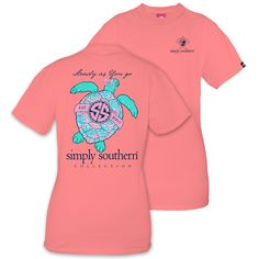 Simply Southern Turtle Short Sleeve Shirt