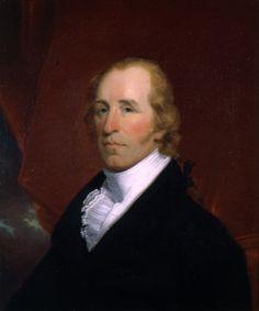 Portrait of William Clark. Oil on canvas bust-length portrait by John Wesley Jarvis, 1810. Missouri History Museum