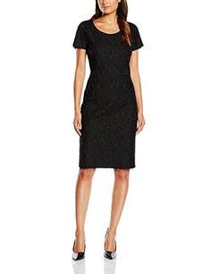 CINQUE Damen Kleid CIDION, Midi, Gr. 40, Schwarz (schwarz 99)