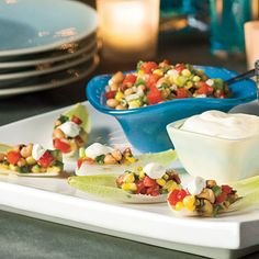 Dixie Caviar (1 (15.8-oz.) can black-eyed peas  1 cup frozen whole kernel corn 1 medium-size plum tomato,  1/2 medium-size green bell pepper,  1/2 small sweet onion, finely chopped 2 green onions,  1 jalapeno pepper, seeded and minced 1 garlic clove, minced 1/2 cup Italian dressing  2 Tbs chopped fresh cilantro  1/2 cup sour cream)