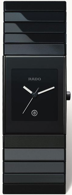 Rado Ceramica Men's Watch - One of my favorites. It's modern and makes every outfit look awesome.