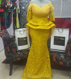 Noviann Outfits: Swipe ⬅️⬅️⬅️ left to view more! Making every fabric work the Noviway! 💰For Price enquiries, share to DM/WhatsApp Only💰 . African Lace Styles, African Lace Dresses, African Dresses For Women, African Attire, African Wear, African Women, African Fashion Ankara, Latest African Fashion Dresses, African Print Fashion