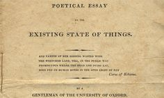 The Bodleian Library has belatedly made Shelley's 'Poetical Essay on the Existing State of Things' available to all – and it's dangerously seditious stuff