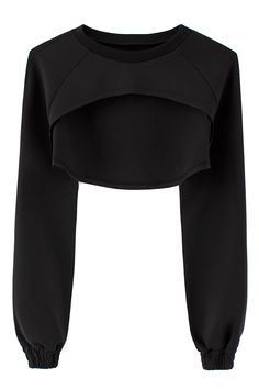 Filed by shopvfiles crops tops, fashion designer, shrug sweater, cropped sweater, neoprene Sport Fashion, Look Fashion, Fitness Fashion, Fashion Outfits, Womens Fashion, Fashion Clothes, Fashion Black, Minimal Chic, Minimal Fashion