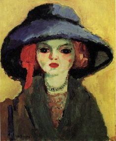 Portrait of Dolly (1911) - Kees van Dongen
