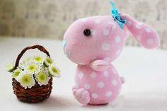 Socken idee von Socken Unterwäsche Shop - Kaninchen aus Socke