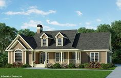Home Plan The Overbrook by Donald A. Gardner Architects