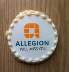 Fashionably Sweet Treats™ Custom Business Logo Cookies - We'll work with you to design your unique corporate logo cookies for tradeshows, client gifts or events.