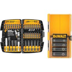 Up To 2000 Lbs Of Torqueincludes Most Common Impact Driver Accessories Pivot Holder Double-ended Bit Tips & Best-in-class Impact Driver. Dewalt 40-piece Impact-ready Screwdriver Set by Custom Made. #myCustomMade