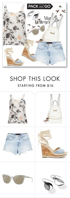 """Pack and Go: Rio"" by andrejae ❤ liked on Polyvore featuring Vero Moda, River Island, Alexander Wang, Sole Society, Beverly Bartlett and rio"