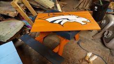 Denver Broncos I did by hand