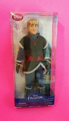 "KRISTOFF Disney Store FROZEN 12"" Classic Fashion Doll Anna Sven Buddy Ken Barbie #DisneyClassicCollection"