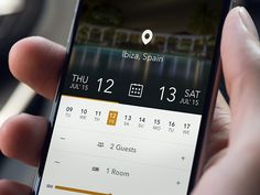 Hotel Reservations Mobile App Ui by Buğra Dere