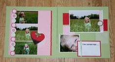 Layout for my Scrapbook Page Layout Class - Stampin' Up!